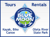 Paddle & Bike Oleta State Park with Blue Moon