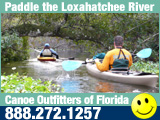Paddle the Loxahatchee for a nature experience