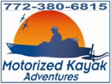 Why paddle, try a motorized kayak!